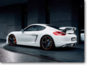 Techart Porsche Cayman Shows-Off with new Rear Spoiler II