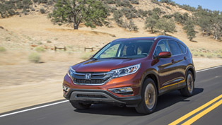2015 Honda CR-V Makes European Debut Tomorrow