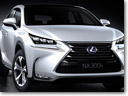 Lexus Releases All-New NX 300H SUV