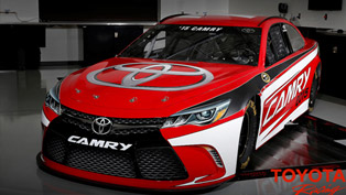 Updated 2015 Toyota Camry NASCAR Racer Revealed