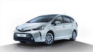 Toyota Prius+ Updated for MY 2015