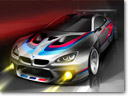 BMW Teases the M6 GT3 Racer