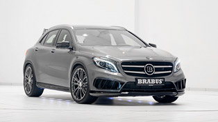 Mercedes-Benz GLA-Class AMG Pumped Up by Brabus