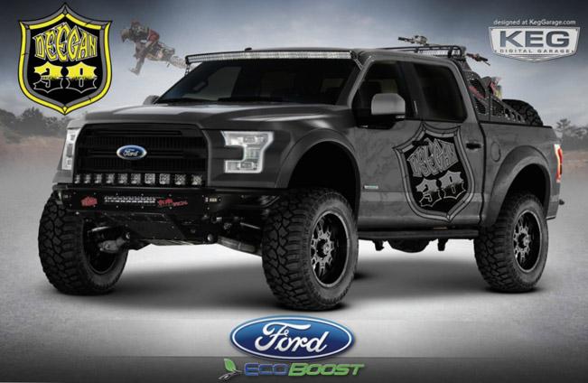 Ford Reveals Two F Series Sema Bound Trucks