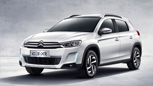 Citroen C3-XR Crossover Unveiled at C_42 on the Champs Elysées