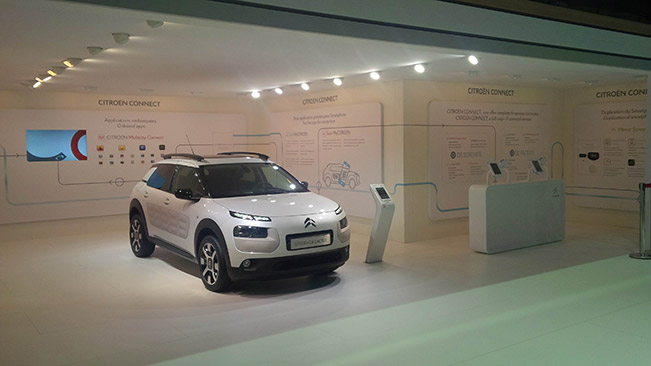 Citroen Connected Services at the 2014 Paris Motor Show