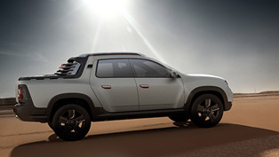 dacia duster oroch revealed in sao paulo