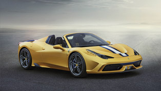 Ferrari 458 Speciale A Breaks Cover in Paris