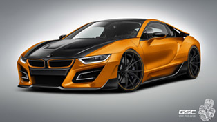 German Special Customs Previews the BMW i8 iTRON