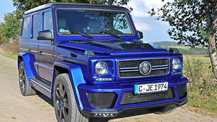 Mercedes-Benz G400 CDI Enhanced by German Special Customs