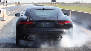 hennessey jaguar f-type r coupe: sometimes power means more power