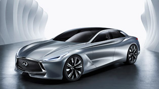 Infiniti Q80 Inspiration Revealed at the Paris Auto Show