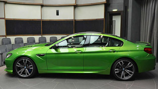 New Individualized Java Green BMW M6 Gran Coupe in Abu Dhabi
