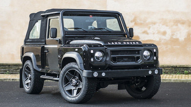 Kahn And Chelsea Truck Company Makeover For Land Rover