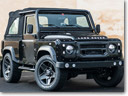 Kahn and Chelsea Truck Company Makeover for Land Rover Defender SVX