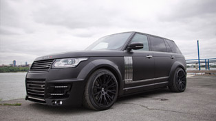 lumma design has prepared stunning clr r conversion kit for the range rover lwb