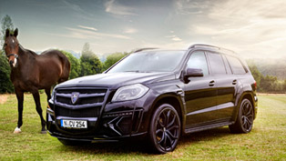 Larte Design Mercedes GL Black Crystal Shows the Power of 290 Horses [VIDEO]