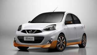 Gold Body Kit Micra is called Nissan March Rio 2016 Edition in Brazil
