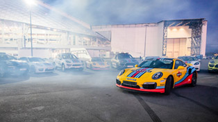 Porsche Unveils Martini Lineup Including 911, Macan, Panamera and Cayenne