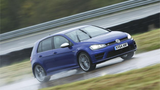 Volkswagen Golf R is the safest car on wet roads