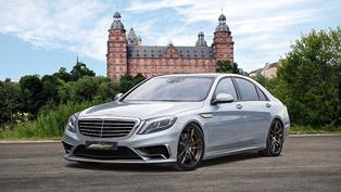 Mercedes-Benz S65 Luxury Sedan Updated by Voltage-Design