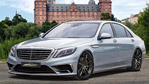 Mercedes-Benz S65 Luxury Sedan Updated by Voltage-Design