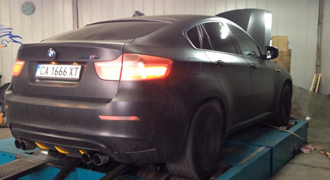 Bmw X6 M Boosted To 680 Hp And 849 Nm By Madness Motorsport