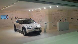 Citroen Connected Services at the 2014 Paris Motor Show