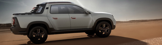Dacia Duster Oroch Revealed in Sao Paulo