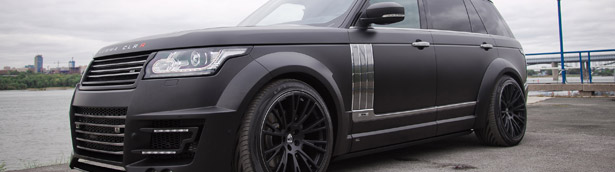 LUMMA Design has Prepared Stunning CLR R Conversion Kit for the Range Rover LWB