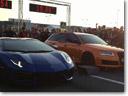Lamborghini Aventador vs Madness Motorsport Audi RS6 – Drag Race