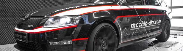 Skoda Octavia RS Combi Diesel Optimized by Mcchip-DKR