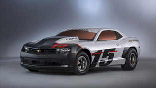 2015 Chevrolet COPO Camaro Racer Revealed at SEMA