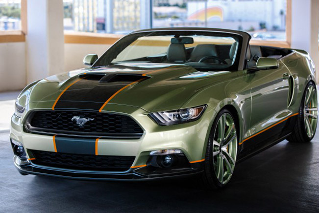 chip foose 39 s sema mustang awarded best of stand design. Black Bedroom Furniture Sets. Home Design Ideas