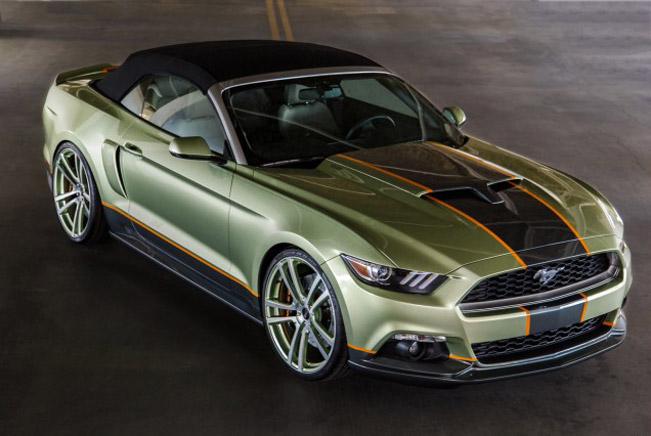 "Préférence Chip Foose's SEMA Mustang Awarded ""Best of Stand Design"" GI92"
