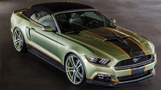 Chip Foose's SEMA Mustang Awarded