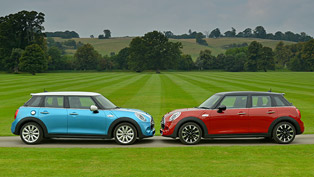 MINI 5-door Model Debuts at Los Angeles Auto Show 2014