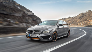 2015 Mercedes-Benz CLA Shooting Brake: The Fifth Member of the Successful Compact Models Family
