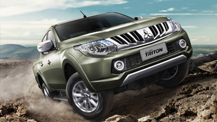 thailand gets 2015 mitsubishi triton pickup truck [video]