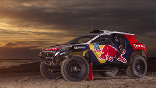 Peugeot Reveals the Definitive Combat Livery of 2008 DKR