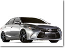 Toyota Shocks Sema with 850-horsepower Camry Dragster