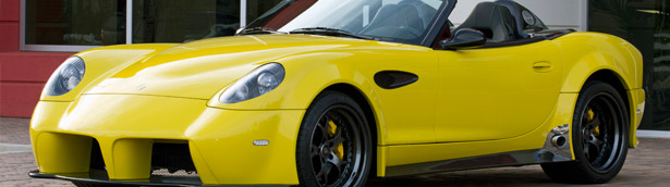 2015 Panoz Esperante Spyder GT Shows 560 hp at SEMA