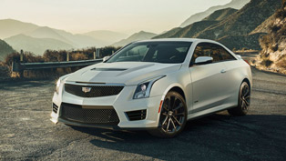 Cadillac Shows its First Ever ATS-V Coupe