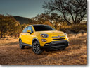 2016 Fiat 500X Trekking Plus Combines Iconic Italian Style with Functionality, Performance and All-wheel-drive Confidence