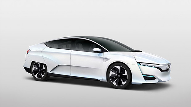 Honda Presents Its All-new Fuel-cell Car: Honda FCV Concept
