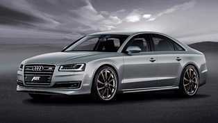 ABT Sportsline Enhances the Latest Audi A8