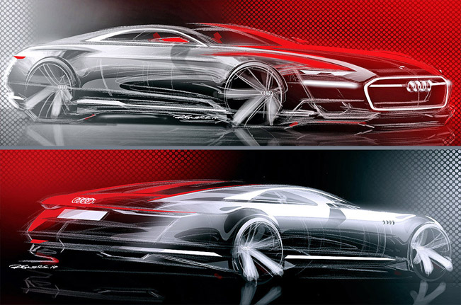 Audi A Concept Called Prologue Leaks Before Official Reveal VIDEO - Audi a9 concept
