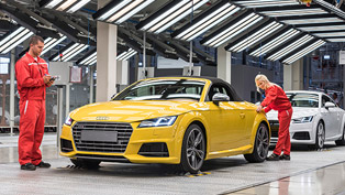 Audi TT Roadster to be Manufactured at Audi Hungaria