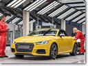 Audi TT Roadster to be Manufactured at Audi Hungaria