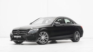 Sporty BRABUS Refinments for the C-Class with AMG Line